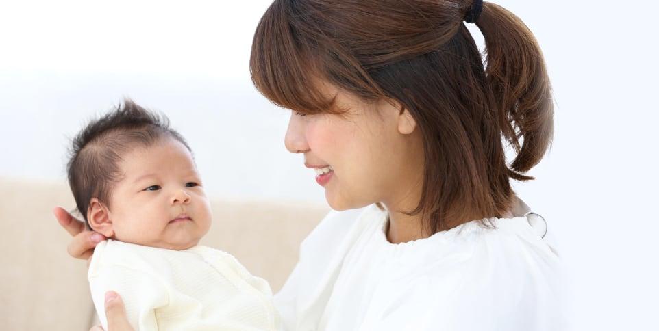 ねんねの頃 - 0~2ヵ月頃の赤ちゃん