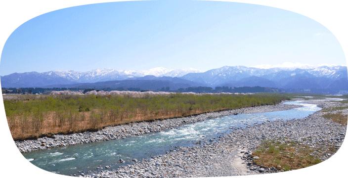北アルプスの天然水(イメージ)