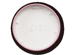 ベビーパウダー(ももの葉)開缶イメージ