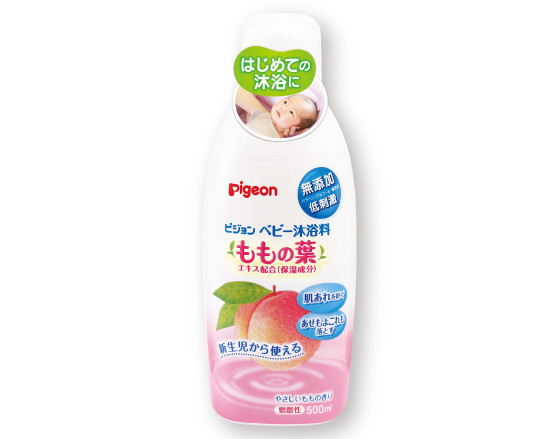 ベビー沐浴料(ももの葉)500ml